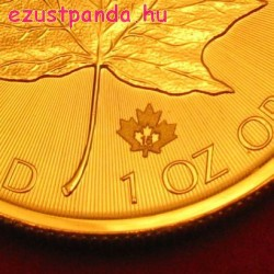 Maple Leaf 1 uncia kanadai arany pénzérme vegyes évjáratok