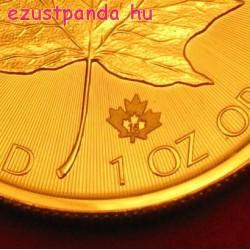 Maple Leaf 2021 1 uncia kanadai arany pénzérme
