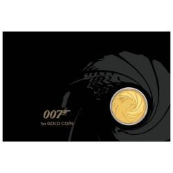 James Bond 007 1 uncia arany pénzérme