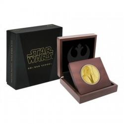 Star Wars Obi-Wan Kenobi 1/4 uncia proof arany pénzérme
