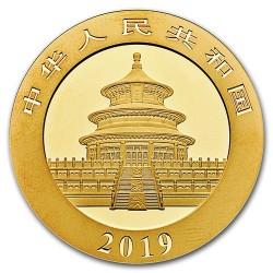 Panda 2019 15g arany pénzérme