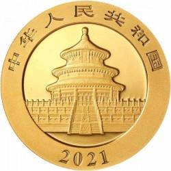 Panda 2021 8g arany pénzérme