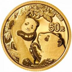 Panda 2021 3g arany pénzérme