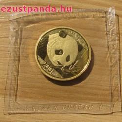 Panda 2018 15g arany pénzérme