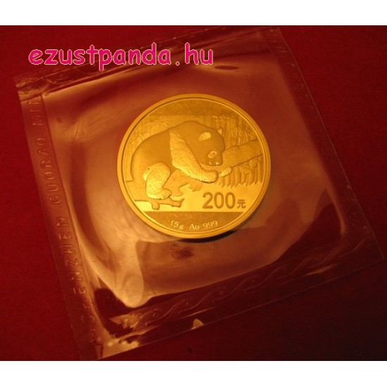 Panda 2016 15g arany pénzérme