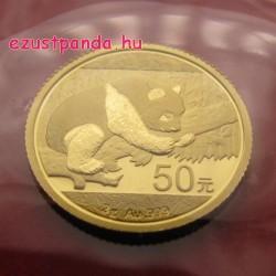 Panda 2016 3g arany pénzérme