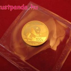 Panda 2017 8g arany pénzérme