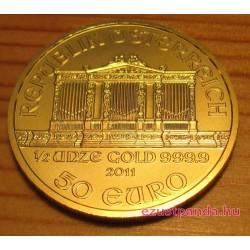 Philharmoniker 1/2 uncia arany pénzérme