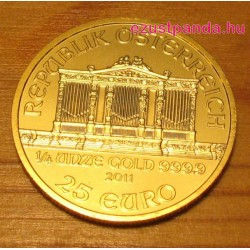Philharmoniker 1/4 uncia arany pénzérme
