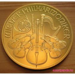 Philharmoniker 2020 1 uncia arany pénzérme