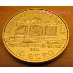 Philharmoniker 1/10 uncia arany pénzérme (vegyes évjáratok)