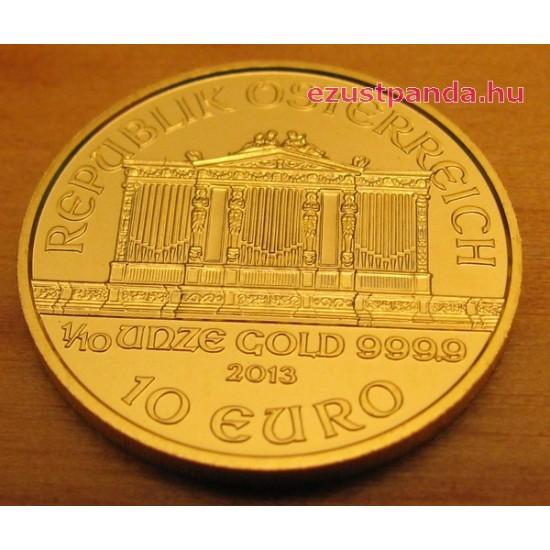 Philharmoniker 2020 1/10 uncia arany pénzérme
