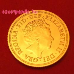 Sovereign 2020 brit arany pénzérme