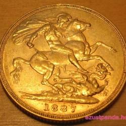 Sovereign brit arany pénzérme vegyes évjáratok
