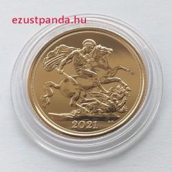 Sovereign 2021 brit arany pénzérme