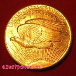 """US """"Dupla Sas"""" 20 dollár arany pénzérme 1907 - 1933"""