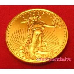 US Eagle / Sas 2021 1/10 uncia arany pénzérme