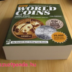 Érmekatalógus World Coins 2001-2017 Krause-Mishler (angol nyelvű)