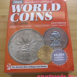 Érmekatalógus World Coins 1901-2000 Krause-Mishler (angol nyelvű)