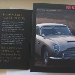 James Bond 007 brit 5 font réz-nikkel pénzérme díszcsomagolásban
