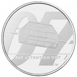 James Bond 007 brit 5 font réz-nikkel pénzérme díszcsomagolásban - második érme!