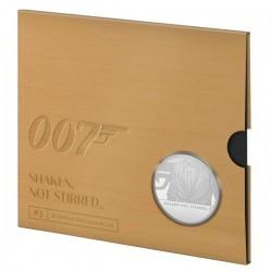 James Bond 007 brit 5 font réz-nikkel pénzérme díszcsomagolásban - harmadik érme!