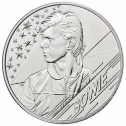 David Bowie 2020 5 font réz-nikkel pénzérme