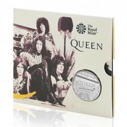 Queen együttes 2020 5 font réz-nikkel pénzérme