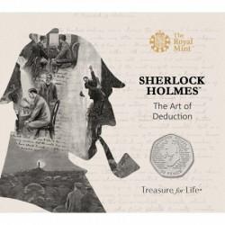 Sherlock Holmes 50p 2019 réz-nikkel pénzérme