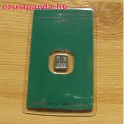 Platina 1 gramm Argor-Heraeus (svájci)