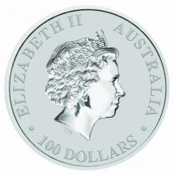 Kenguru 2020 1 uncia platina pénzérme