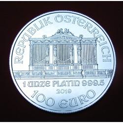 Philharmoniker 2020 1 uncia platina pénzérme - ÚJRA RENDELHETŐ!