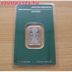 Platina 5 gramm Argor-Heraeus (svájci)