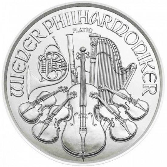 Philharmoniker 2020 1/25 uncia platina pénzérme