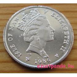 Noble Man-sziget (Nagy-Britannia) 1/10 uncia platina pénzérme