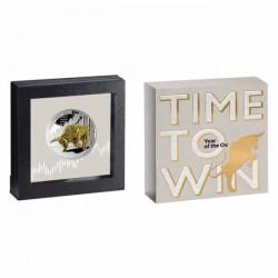 Time to Win 2021 proof ezüst pénzérme - CSAK 999 példány!