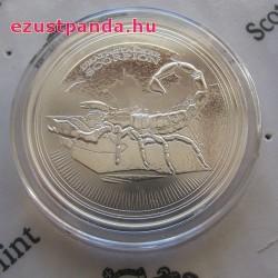 Skorpió 2017 1 uncia ezüst pénzérme Csád