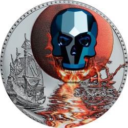 Kristálykoponya 2019 1 uncia proof ezüst pénzérme