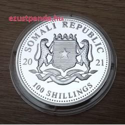 Szomália Leopárd 2021 1 uncia ezüst pénzérme