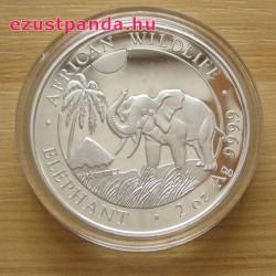 Szomália Elefánt 2017 2 uncia ezüst pénzérme