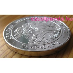 Szomália Elefánt 2012 1 uncia ezüst pénzérme