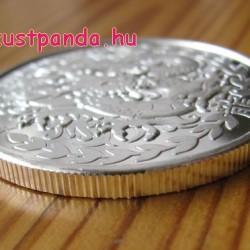 Szomáliföld Sárkány 2012 1 uncia ezüst pénzérme
