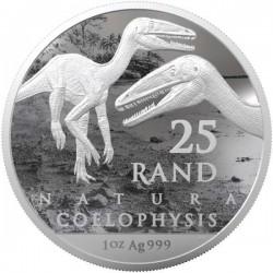 Dinoszaurusz - Coelophysis 2020 1 uncia ezüst pénzérme