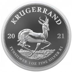 Krugerrand 2021 proof 1 uncia ezüst érme