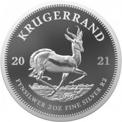 Krugerrand 2021 proof 2 uncia ezüst érme