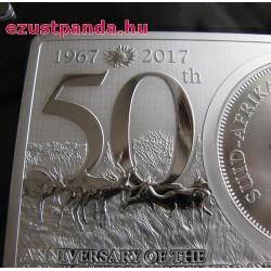 Krugerrand 2017 3 uncia ezüst szett