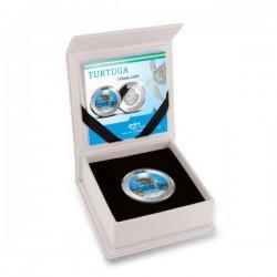 Turtuga Teknős Aruba 25g proof ezüst pénzérme - csak 750 db!