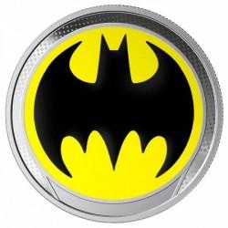 Batman 2019 világító ezüst pénzérme Barbados