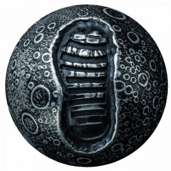 Holdraszállás 2019 1 uncia gömbölyű, antikolt ezüst pénzérme Barbados