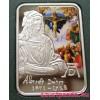 A Világ festői: Dürer - Andorra 2010 színes ezüst pénzérme